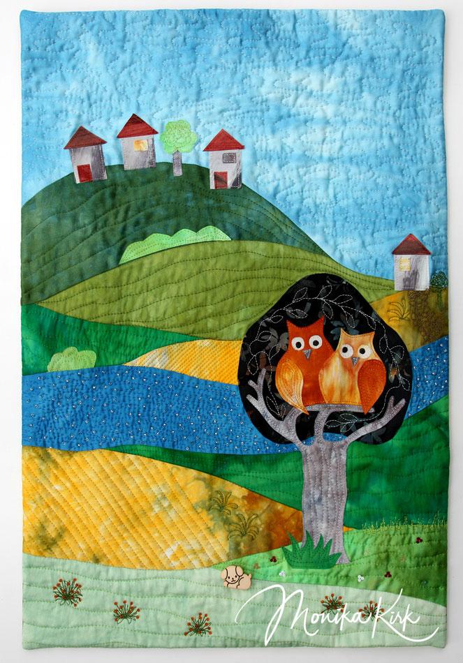 Kuscheleulen (2011)40 x 60 cm