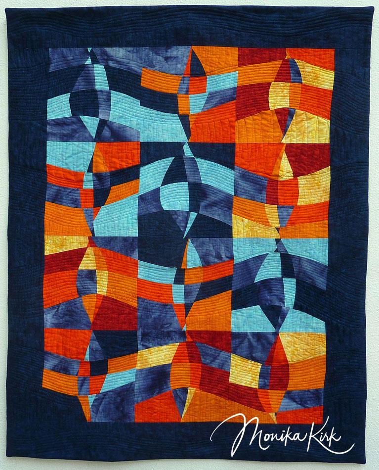 Sonne und Meer (2010)90 x 100 cmOvale nach Pia Welsch