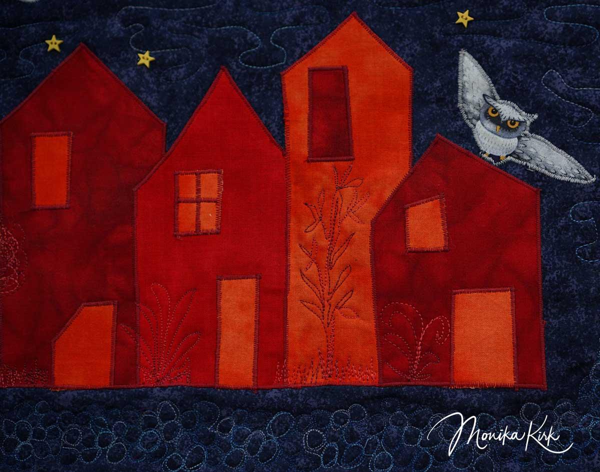 Vögel der Nacht Detail